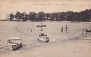 Boating At Union Lake and Park Millville New Jersey
