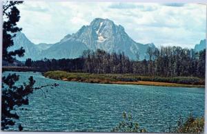 Mt. Moran and Snake River Grand Teton National Park Wyoming