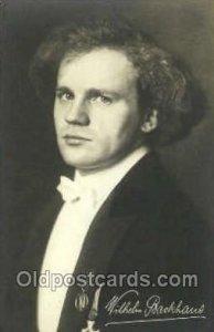Wilhelm Backhaus Opera Unused