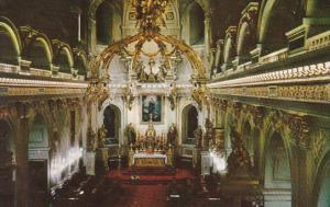 Canada Quebec La Cite Interior Of The Basilica