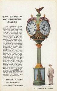 SAN DIEGO , California , 00-10s ; Jessop's Clock, Granger Block