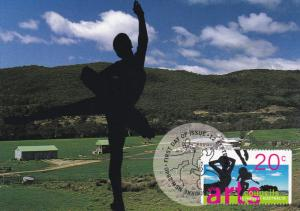 50th Anniversity of Arts Council , Stamp & Postcard , Australia , 1996
