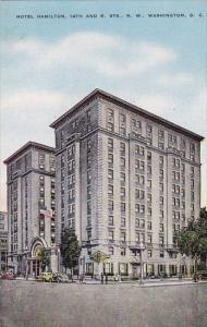 Hotel Hamilton 14th And K Streets North West Washington D C