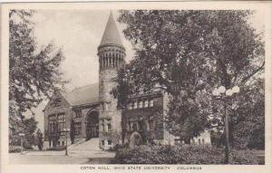 Ohio Columbus Orton Hall Ohio State University Albertype