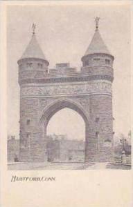 Connecticut Hartford Soldiers Memorial Arch