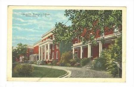 Greenville Women's College, Greenville, SC, 10-20s