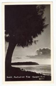 RP   Guam, 30-40s, Australian pine, Saupan Point