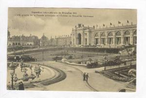 Exposition de Bruxelles, Belgium 1910   Facade principale et l'Entree de Brux...