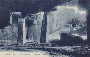 SIRACUSA, Latomia Paradiso, Grotta dei Cordari, Sicily, Italy, 00-10s