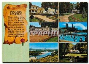 Postcard Modern Pougues les Eaux Nievre