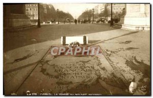 Old Postcard Paris Tomb of the Unknown Soldier Army