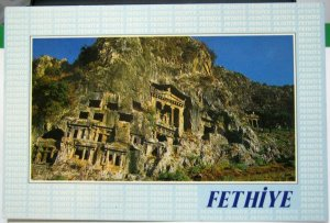 Turkey Fethiye Kral Mezarlan - unposted