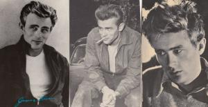 James Dean 3x Postcard Bundle