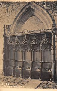 England Choir Stalls All Saints Hereford