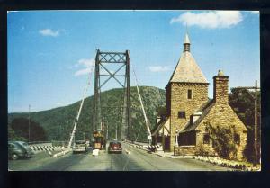 Bear Mountain, New York/NY Postcard, The Toll Gate Near Bear Mountain Bridge