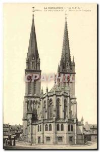 Old Postcard Normandy Delivrande The apse of the chapel