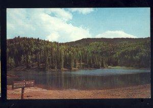 Beaver, Utah/UT Postcard, Anderson Meadow Reservoir
