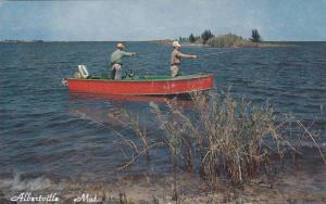 Fishing, Albertville Mat., Quebec, Canada, 40-60s