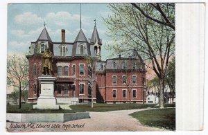 Auburn, Me, Edward Little High School