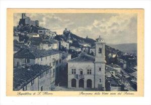 San Marino, 00-10s   Panorama della Citta visto dal Palazzo