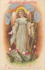 EASTER : Ribbon , Angel w/ harp , Glitter on anchor , 00-10s