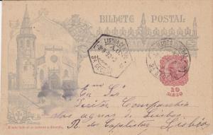 Postal card , D'este lado so se escreve a direccao , Portugal , PU-1898