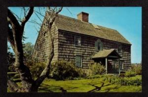 NY Ezekiel Sandford House BRIDGEHAMPTON Long Island NEW YORK Postcard