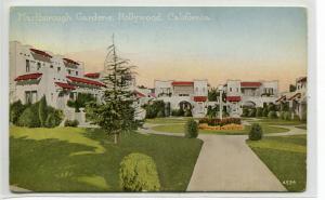 Marlborough Gardens Hollywood California 1910c postcard