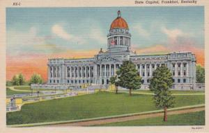 Kentucky Frankfort State Capitol Building Curteich