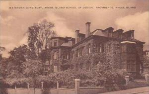Rhode Island Providence Waterman Dormitory Rhode Island School Of Design Artvue