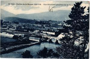 CPA REVIN - Vue générale quartier de la Gare (135540)