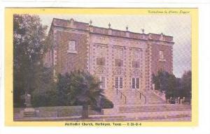 Methodist Church, Harlingen, Texas, 40-60s