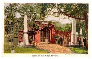 Virginia  Jamestoen Exposition 1907,   Tomb of Washington