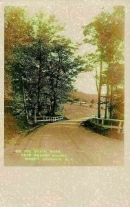 The State Road near Shaker Village Mount Lebanon New York Postcard