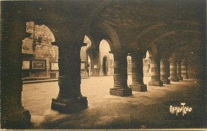 Postcard France la rochelle city hall columns