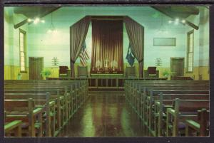 Interior View,Chapel,Camp McCoy,WI BIN