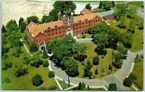 Detroit, MI Postcard St. Paul of the Cross Passions Monastery c1950s Unused
