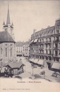 LAUSANNE, Switzerland, 1900-1910's; Saint Francois