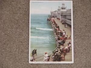 Watching the Bathers, Atlantic City, N.J., Photostint Card