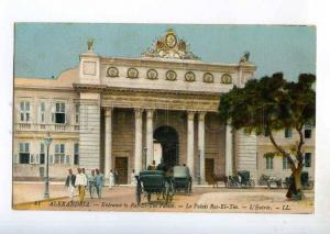 247265 EGYPT ALEXANDRIE Ras-El-Tin palace Vintage postcard