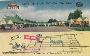 SALT LAKE CITY, Utah, PU-1964; Lunt Motel