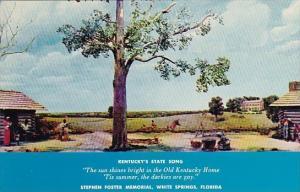 Florida White Springs Kentucky's State Song Stephen Foster Memorial