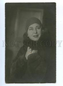 174917 OGAREVA Russian OPERA OPERETTA singer Vintage PHOTO