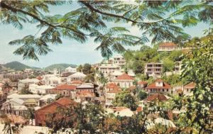 Charlotte Amalie St Thomas US Virgin Islands~Houses~Dutch Reformed Church~c1960s