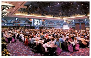 Connecticut  Foxwoods Resort Casino, Room full of Bingo players