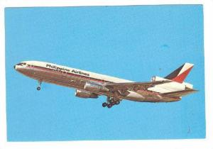 Philippine Airlines, McDonnell Douglas DC-10-30, Airplane, 1974