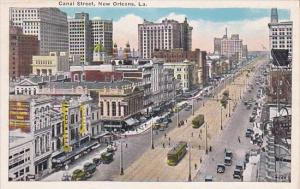 Canal Street New Orleans Louisiana