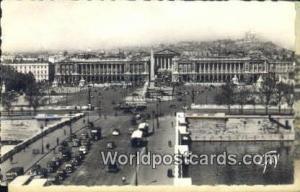 Paris et ses Merveilles, France, Carte, Postcard Pont et Place de la Concorde...