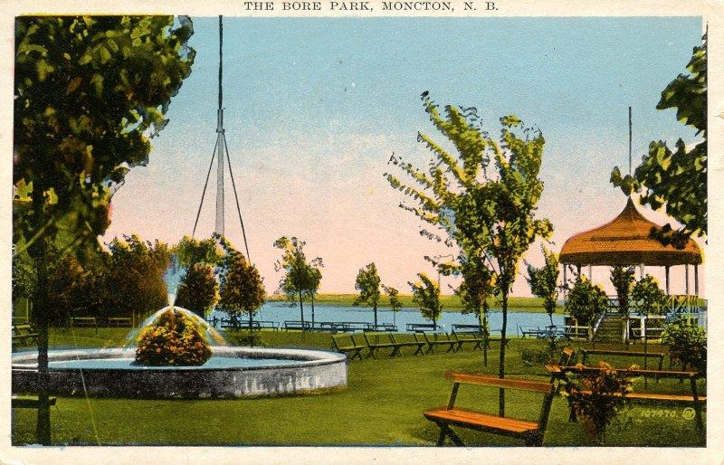 Canada - New Brunswick, Moncton. The Bore Park