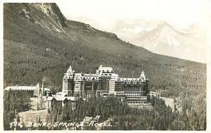RP Banff Springs Hotel Banff Alberta Canada
